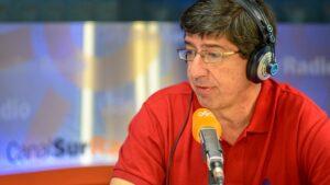 Juan Marín, portavoz del Grupo Ciudadanos en el Parlamento de Andalucía