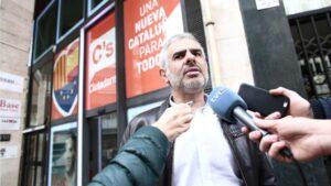 Carlos Carrizosa, diputado del Parlamento de Cataluña