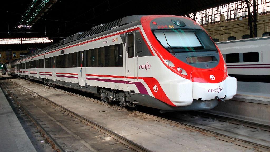 Tren de cercanías de Renfe