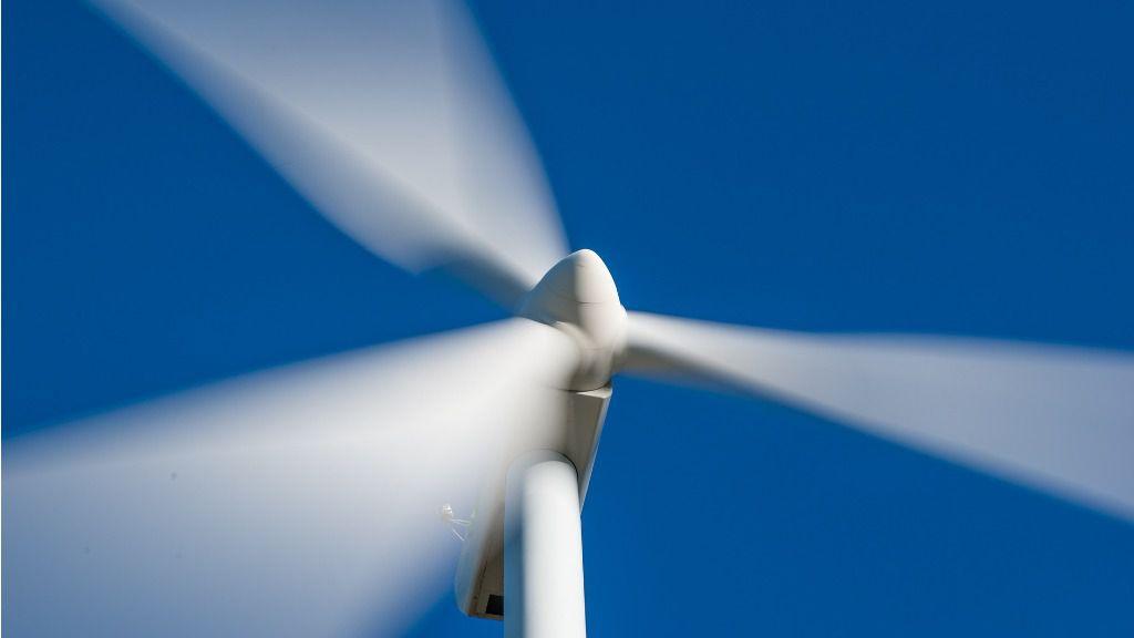 Molino de viento energia renovables