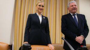 Cristina Cifuentes en el Congreso.