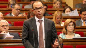 Jordi Turull, consejero de Presidenta y portavoz de la Generalitat de Cataluña