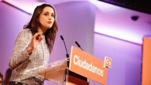 Inés Arrimadas, líder de Ciudadanos en Cataluna