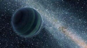 Recreación del Planeta 9