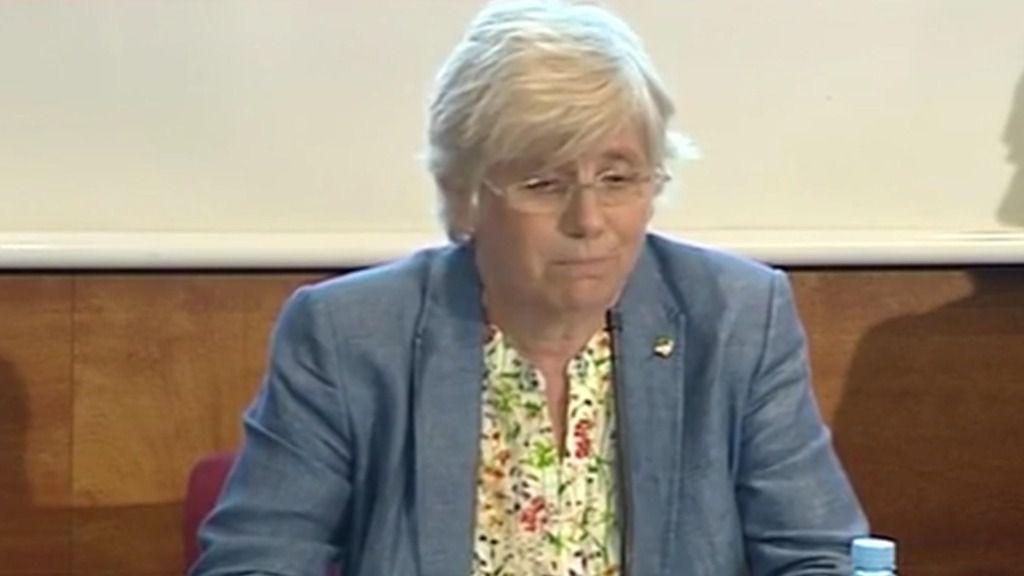 Clara Ponsatí, consejera de Enseñanza de Cataluña
