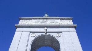 Arco de la Victoria moncloa franco memoria historica