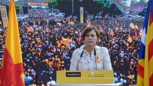 Carme Forcadell, presidenta del Parlament de Cataluña