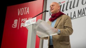 Odón Elorza, diputado del PSOE