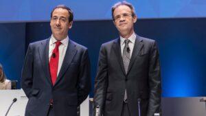Jordi Gual y Gonzalo Gortázar