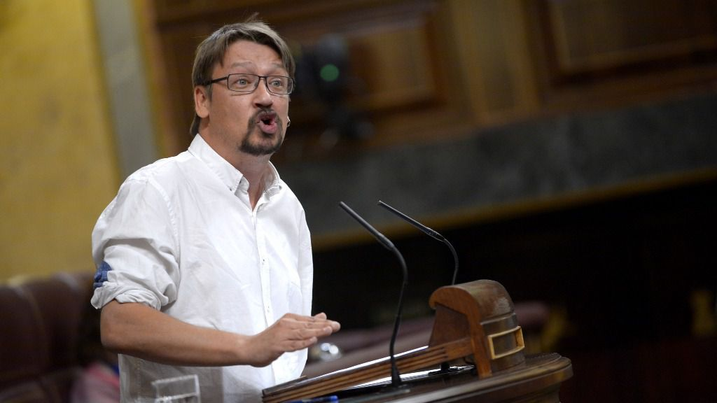 Xavier Domènech, Portavoz adjunto del Grupo Confederal UP-EC-EM en el Congreso de los Diputados