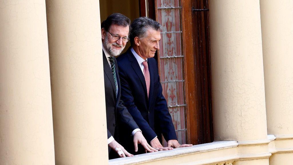 Mariano Rajoy y Mauricio Macri