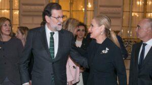 Mariano Rajoy y Cristina Cifuentes