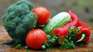 Verdura alimentos