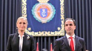 Cristina Cifuentes y Javier Ramos