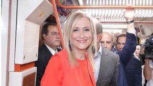 Cristina Cifuentes en el Metro de Madrid