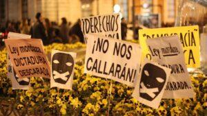 Ley Mordaza censura libertad expresion