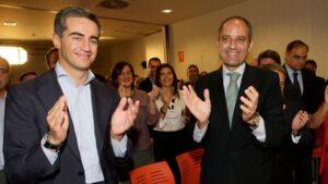 Ricardo Costa y Francisco Camps