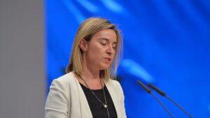 Federica Mogherini, Alta Representante de Política Exterior y de Seguridad Común de la Unión Europea