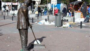 Madrid suciedad limpieza