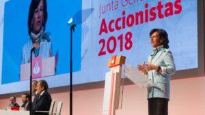 Junta de Accionistas de Banco Santander