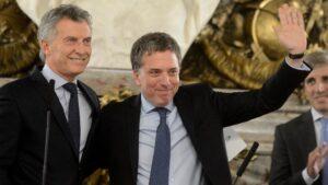 Mauricio Macri, presidente de Argentina y Nicolás Dujovne, ministro de Argentina