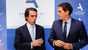 José María Aznar y Albert Rivera