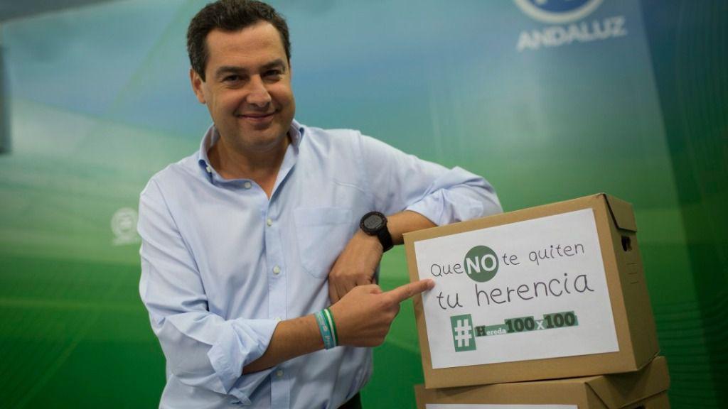 Juanma Moreno, líder del PP andaluz.