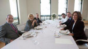 Almuerzo de alcaldes de Madrid