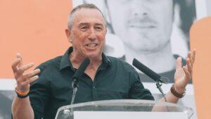 Joan Baldoví, portavoz de Compromís en el Congreso de los Diputados