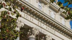 Edificio de la Bolsa de Madrid