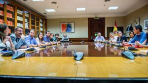 PSOE y Podemos Pedro Sánchez y Pablo Iglesias