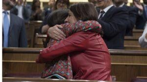 Margarita Robles y Adriana Lastra