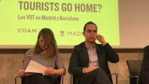 José Manuel Calvo y Janet Sanz debaten sobre las VUT.