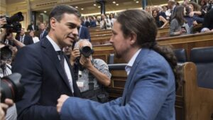 Pedro Sanchez y Pablo Iglesias