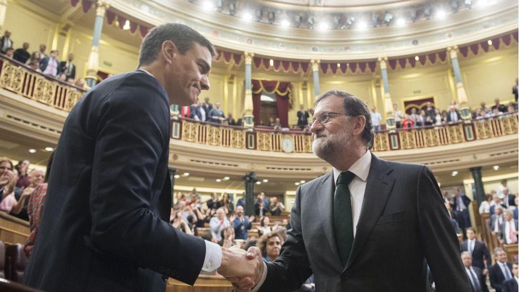 Pedro Sanchez y Mariano Rajoy