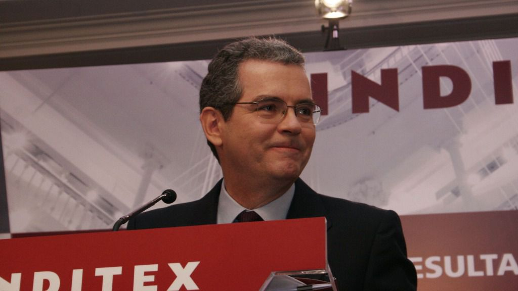 Pablo Isla, presidente del grupo textil Inditex