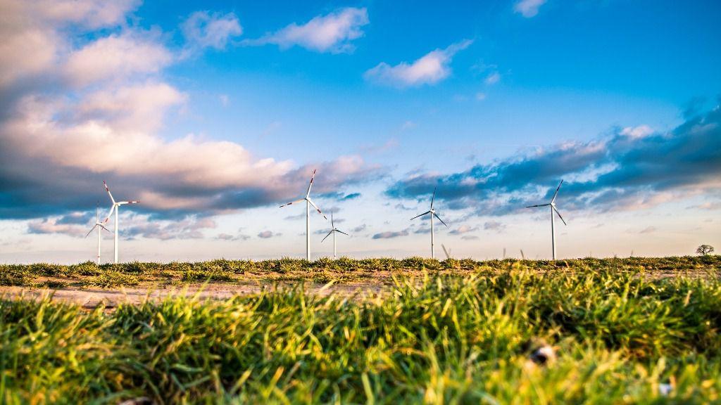 Molinos de viento energia renovables