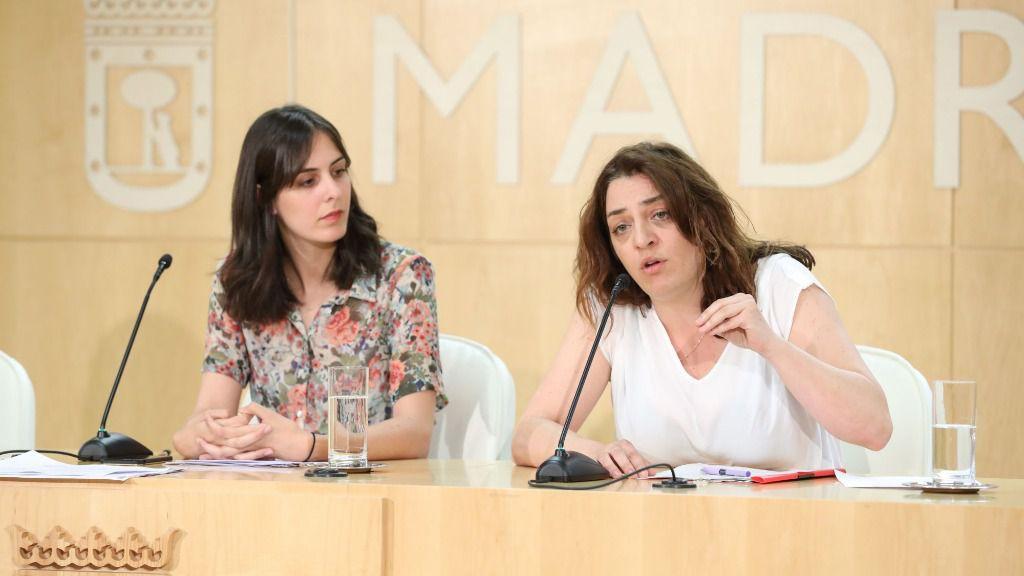 Celia Mayer y Rita Maestre