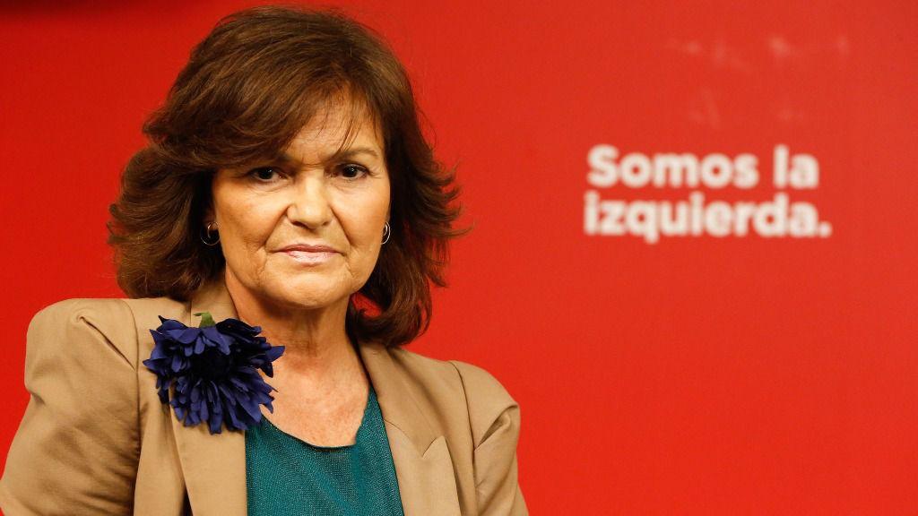 Carmen Calvo, secretaria de igualdad del PSOE