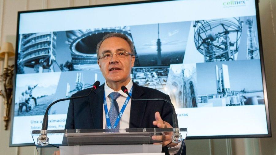 Tobías Martínez, presidente y CEO de Cellnex Telecom