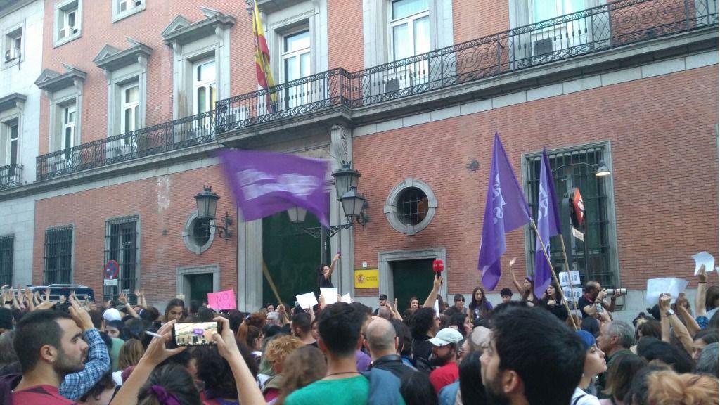Manifestación La Manada