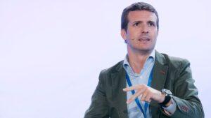 Pablo Casado, vicesecretario general de Comunicación del Partido Popular