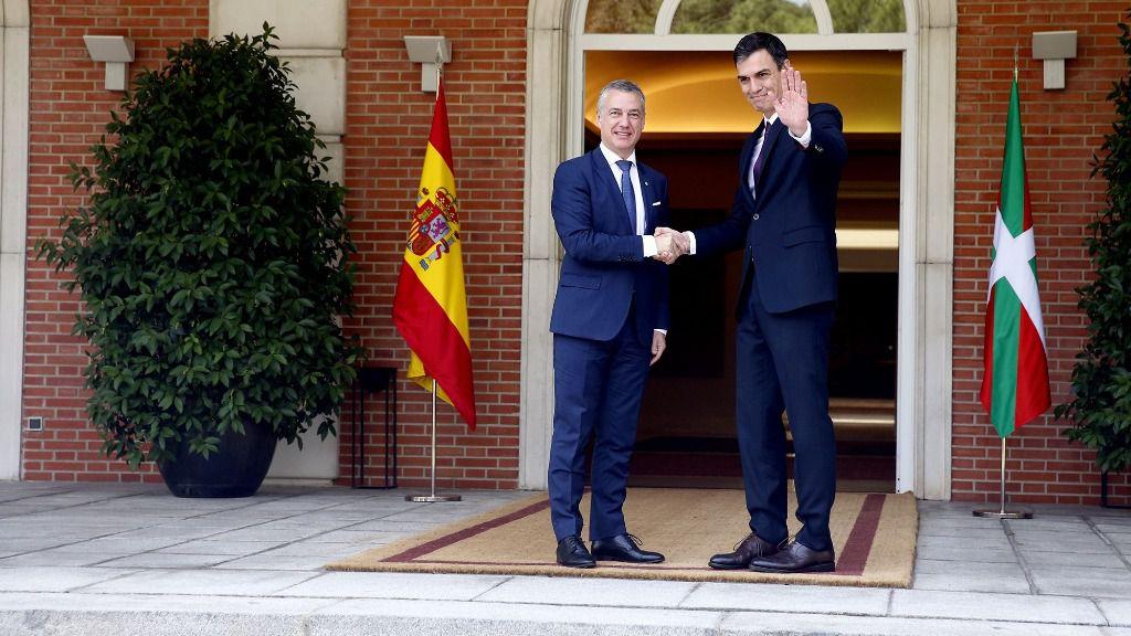 Pedro Sánchez e Íñigo Urkullu