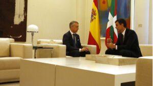 Pedro Sánchez e Iñigo Urkullu