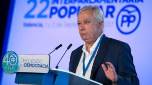 Javier Arenas, vicesecretario nacional del PP para asuntos territoriales