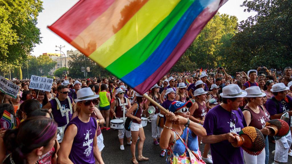 Desfile del día del orgullo gay