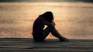 Depresión jóven tristeza