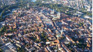 Panorámica de Lübeck