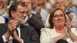 Mariano Rajoy y Elvira Rodríguez