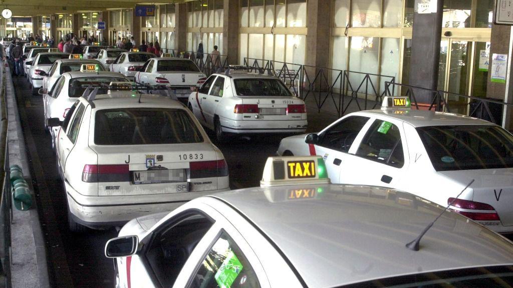 Taxis en Madrid.
